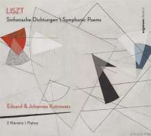 Franz Liszt (1811-1886): Symphonische Dichtungen für 2 Klaviere, CD