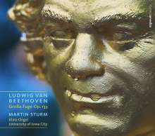 Ludwig van Beethoven (1770-1827): Große Fuge op.133 für Orgel, 2 CDs