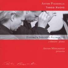 Astor Piazzolla (1921-1992): The 4 Seasons für 2 Klaviere, CD