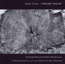 John Cage (1912-1992): Organ 2/ASLSP, CD