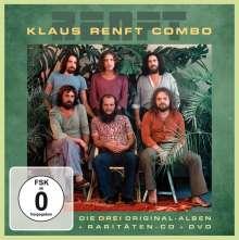 Klaus Renft Combo: Die drei Original Amiga-Alben, Hits und Raritäten (4 CD + DVD), 4 CDs und 1 DVD