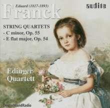 Eduard Franck (1817-1893): 2 Streichquartette, CD