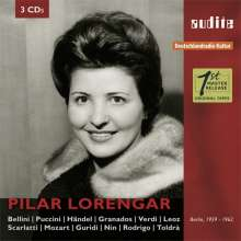 Pilar Lorengar - A Portrait in Live and Studio Recordings from 1959-1962, 3 CDs