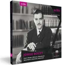 Jorge Bolet - The RIAS Recordings Vol.1, 3 CDs