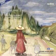 Edvard Grieg (1843-1907): Orchesterwerke Vol.1 (180g), LP
