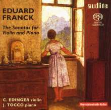 Eduard Franck (1817-1893): Die Sonaten für Violine & Klavier, 2 Super Audio CDs