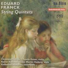 Eduard Franck (1817-1893): Streichquintette opp.15 & 51, Super Audio CD