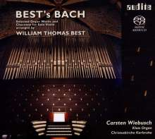 Johann Sebastian Bach (1685-1750): Orgelwerke in Bearbeitungen von William Thomas Best, Super Audio CD