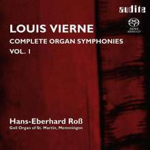 Louis Vierne (1870-1937): Sämtliche Orgelsymphonien Vol.1, Super Audio CD