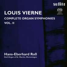 Louis Vierne (1870-1937): Sämtliche Orgelsymphonien Vol.2, Super Audio CD