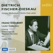 Dietrich Fischer-Dieskau - Schubert Lieder Collection, CD