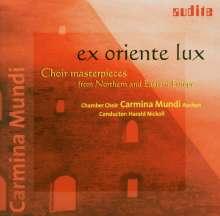 Carmina Mundi Chor - Ex Oriente Lux, CD