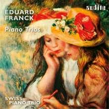 Eduard Franck (1817-1893): Klaviertrios op.22, op.53, E-Dur WoO, CD