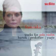 Franziska Pietsch - Works for Solo Violin, CD