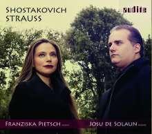 Franziska Pietsch - Schostakowitsch / Strauss, CD