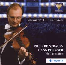 Richard Strauss (1864-1949): Sonate für Violine & Klavier op.18, CD