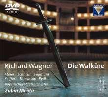 Richard Wagner (1813-1883): Die Walküre, 3 DVD-Audio