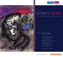 Ferdinand Hiller (1811-1885): Die Zerstörung Jerusalems, 2 CDs