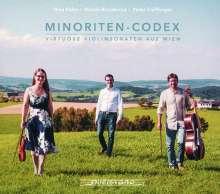 Minoriten-Codes - Virtuose Violinsonaten aus Wien, CD