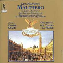 Gian Francesco Malipiero (1882-1974): Il Capitan Spavento, 2 CDs