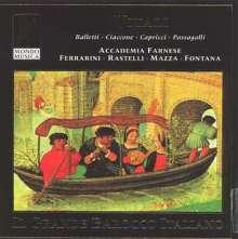 Giovanni Battista Vitali (1632-1692): Partite del Passamezzo op.7, CD