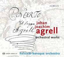 Johan Joachim Agrell (1701-1765): Orchesterwerke, Super Audio CD