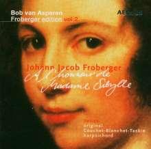 Johann Jacob Froberger (1616-1667): Suiten für Cembalo Nr.1-6,18,19,23,24,28, 2 CDs