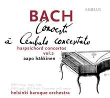 Johann Sebastian Bach (1685-1750): Cembalokonzerte Vol.2, Super Audio CD