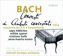 Johann Sebastian Bach (1685-1750): Cembalokonzerte Vol.4, Super Audio CD