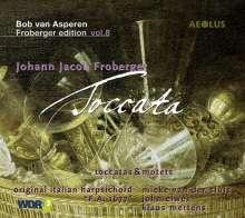 Johann Jacob Froberger (1616-1667): Toccaten für Cembalo, CD