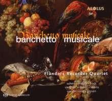 Flanders Recorder Quartet - Banchetto Musicale, Super Audio CD