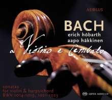 Johann Sebastian Bach (1685-1750): Sonaten für Violine & Cembalo BWV 1014-1019,1021-1023, 2 Super Audio CDs