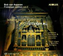Johann Jacob Froberger (1616-1667): Orgelwerke (Complete Fantasias / Complete Canzonas / Toccatas), Super Audio CD