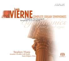 Louis Vierne (1870-1937): Sämtliche Orgelsymphonien Vol.3, 2 Super Audio CDs