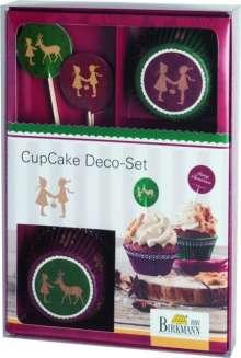 CupCake Deco-Set, nostalgische Weihnachten, Diverse