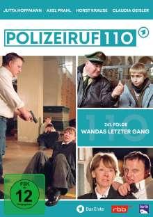 Polizeiruf 110: Wandas letzter Gang (Folge 241), DVD