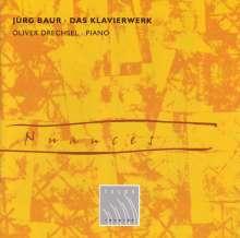 Jürg Baur (1918-2010): Das Klavierwerk, CD