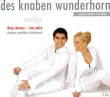 Gustav Mahler (1860-1911): Des Knaben Wunderhorn (Fassung für 2 Singstimmen & Klavier), 2 CDs