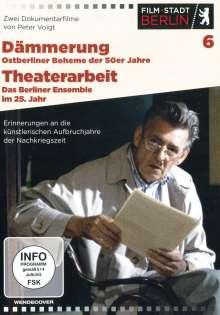Dämmerung - Ostberliner Boheme der 50er Jahre / Theaterarbeit - Das Berliner Ensemble im 25. Jahr, DVD
