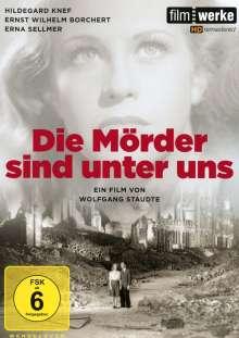 Die Mörder sind unter uns, DVD