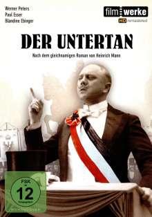 Der Untertan, DVD