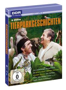Tierparkgeschichten, 3 DVDs