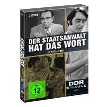 Der Staatsanwalt hat das Wort Box 2: 1971-1975, 3 DVDs
