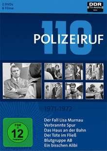 Polizeiruf 110 Box 1: 1971-1972, 2 DVDs