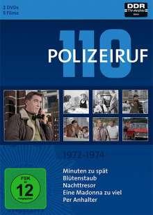 Polizeiruf 110 Box 2: 1972-1974, 2 DVDs