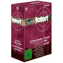 Tatort - 70er Komplett-Box (1970-1979), 10 DVDs