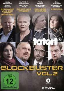 Tatort - Blockbuster 2, 2 DVDs