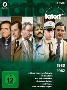 Tatort - Klassiker 80er Box 1 (1980-1982), 3 DVDs