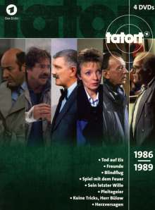 Tatort - Klassiker 80er Box 3 (1986-1989), 4 DVDs