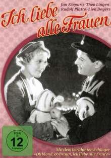 Ich liebe alle Frauen, DVD